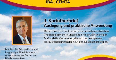 IBA – Curso Teológico – Afiche